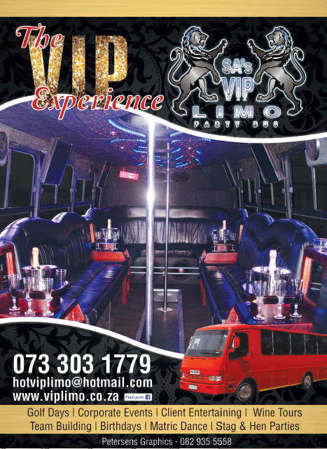A4 Poster copy - VIP Party Bus
