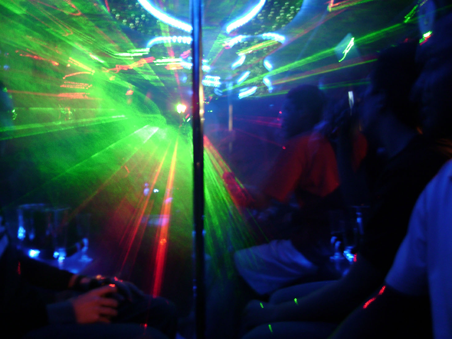 pic 3 lights - VIP Party Bus